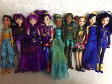 11'' Original Descendants girl doll multi joint Action Figure brinquedos Doll Toy Gift  fancy original fever elsa musical fairy toy ice princess magic wand with lighting action figure game electric toy girl best gift