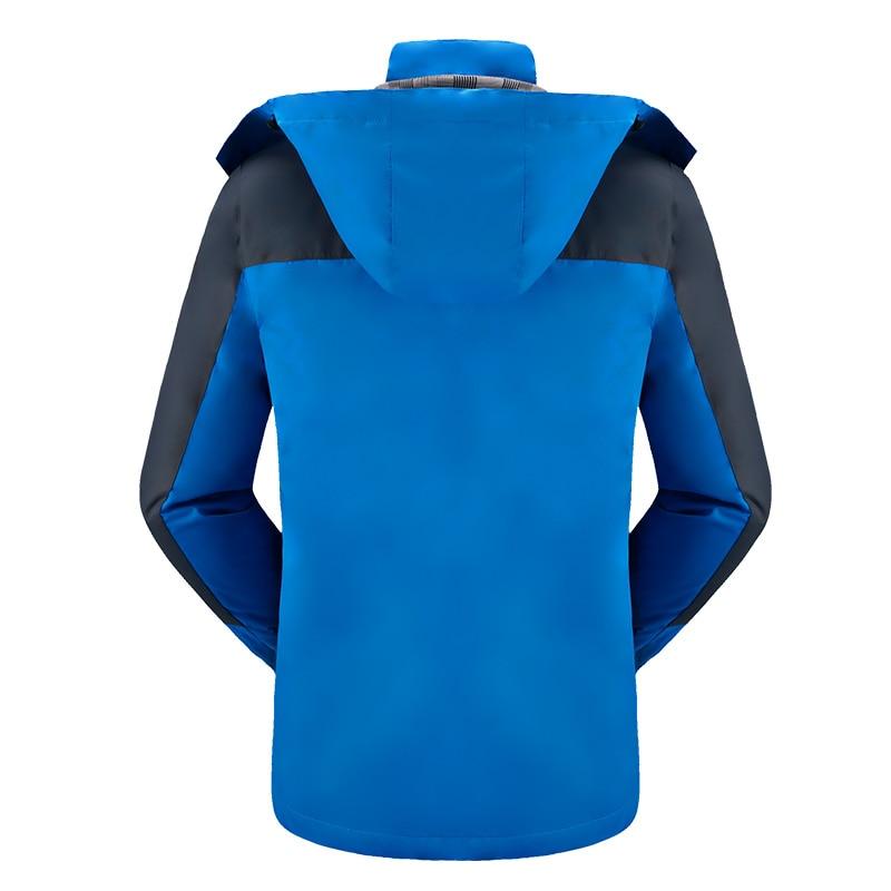 Spomladi jesen moški suknjič moški modni jakni plašč Windbreaker - Moška oblačila - Fotografija 5