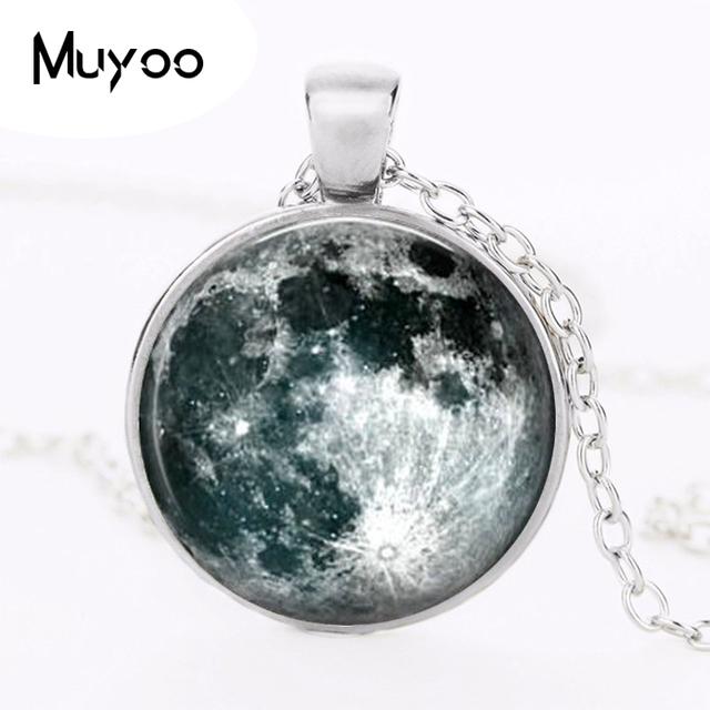 Collar colgante exclusivo joyería Luna romántico regalo para los amantes