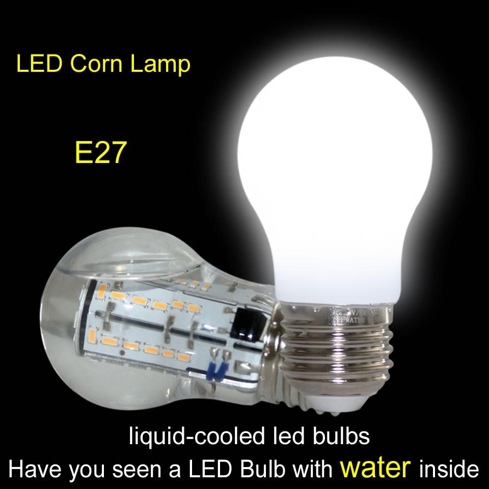 Indoor Led Light Bulbs: Outdoor Indoor Lighting Led Corn Lamp E26 E27 Liquid