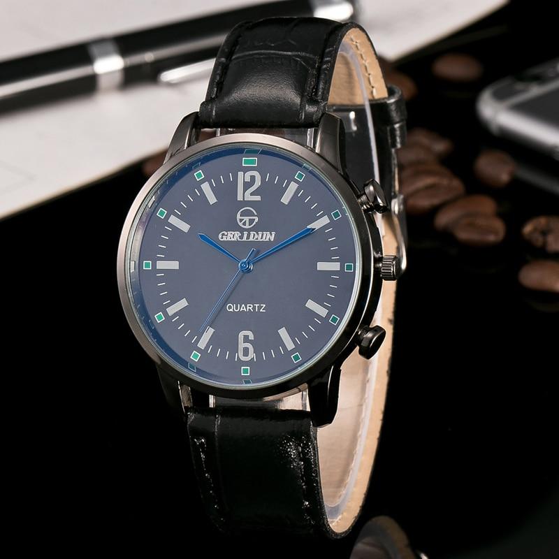 2017 Relojes de Hombre Reloj de pulsera de Lujo Para Hombre Reloj de - Relojes para hombres - foto 2