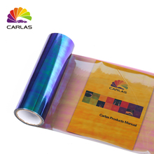 0.3x10M 12x394 New Carlas Chameleon Transparent Car Headlight Color Changing Film Free Shipping