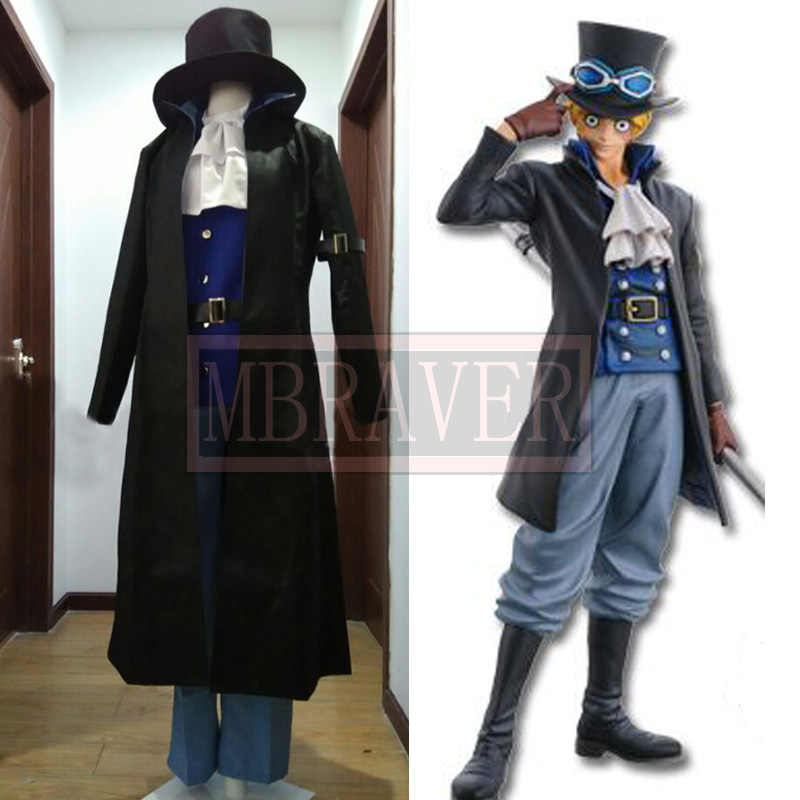 One Piece sabo Cosplay Costume 7 Years Later Any Size