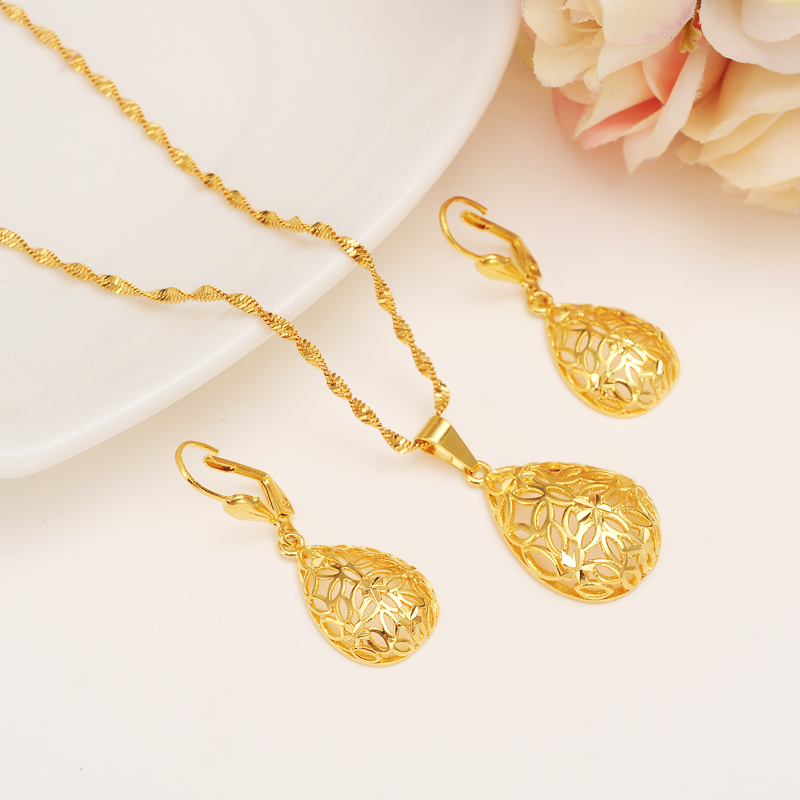 lovely-water-d-pendant-necklace-earrings-set-petal-14-fontbk-b-font-fine-fontbyellow-b-font-fontbgol