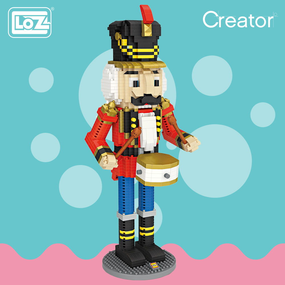 LOZ Micro Block Soldat Puppe Nussknacker Puppet Weihnachten ...