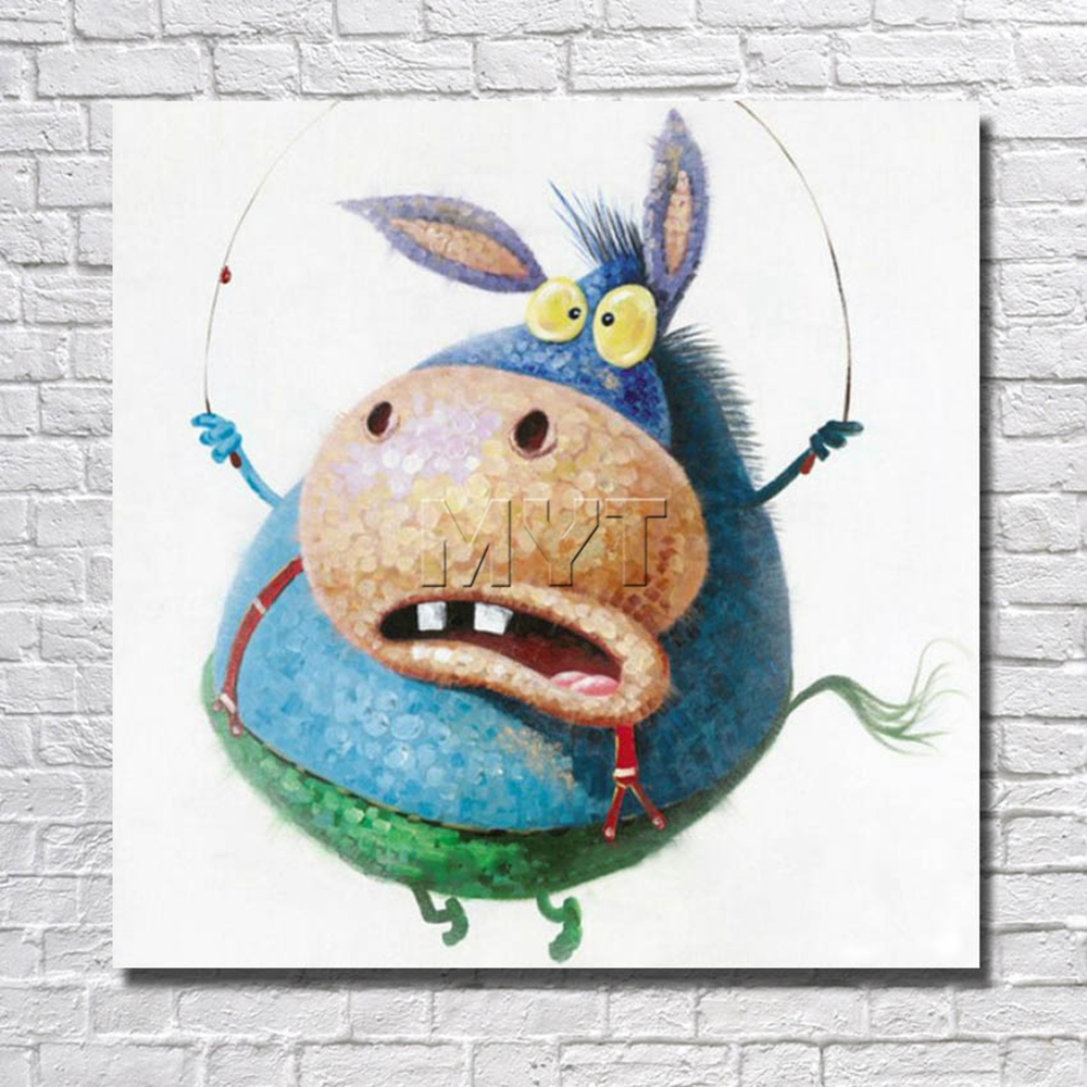 Photos Funny Animal Oil Painting Home Decor Living Room Decor Fine Art Pictures With Framed Painting Ready To Hang Artwork Art Pictures Picture With Framefine Art Aliexpress,Christmas Decorations Diy Easy