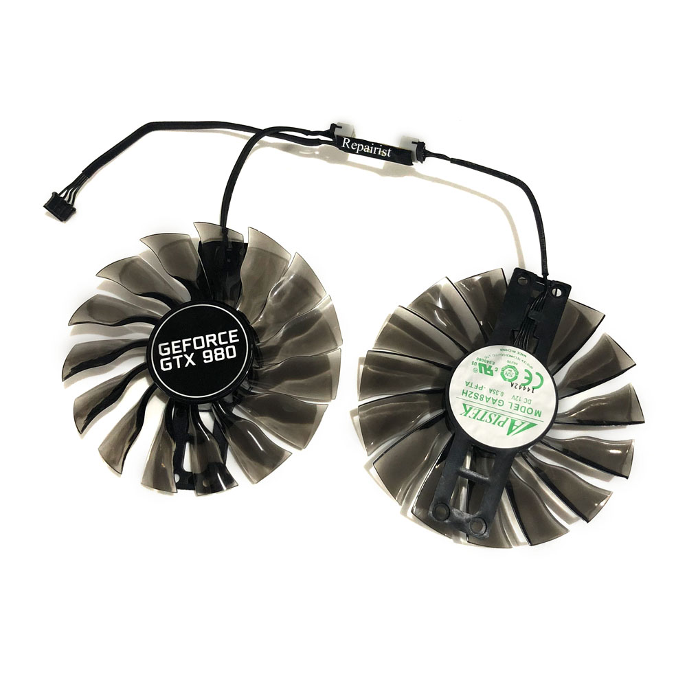 Palit gtx1070 gtx1080Ti GPU VGA ventilateur de refroidissement alternatif pour GeForce GTX1080 Ti GTX 1070/1080 Grahics carte de refroidissement comme Repalcement