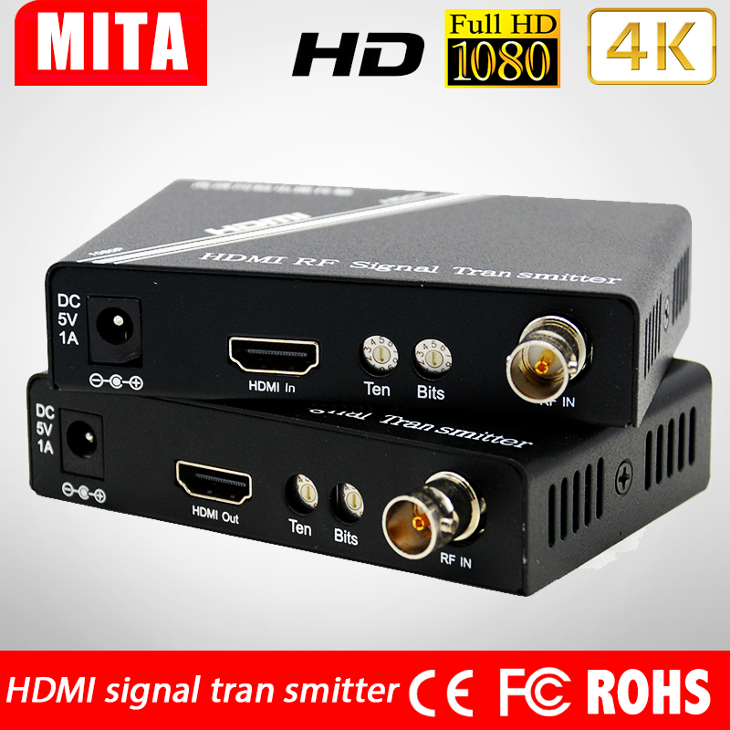 HDMI video transmission series HD coaxial RF transmitter