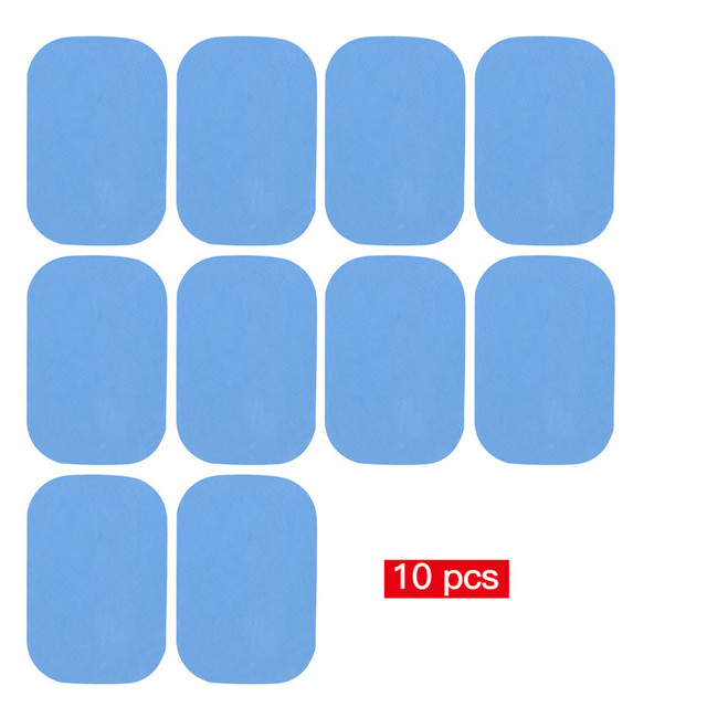 10-20Pcs EMS Muscle Trainer Replacement Gel Pads Abdominal Toning Belt Sticker Abs Training Massage Gear Pads Gel Patch Sheets 0 5