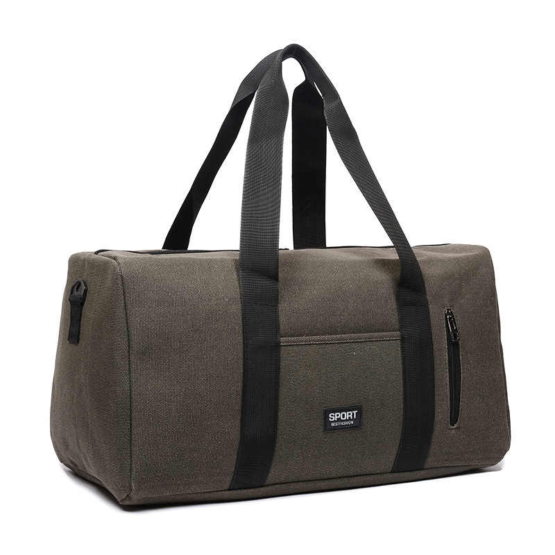 Men Travel Bags Large Capacity Luggage Handbags Foldable big sports bag  Canvas duffle bag weekend bag 529a06e25c933