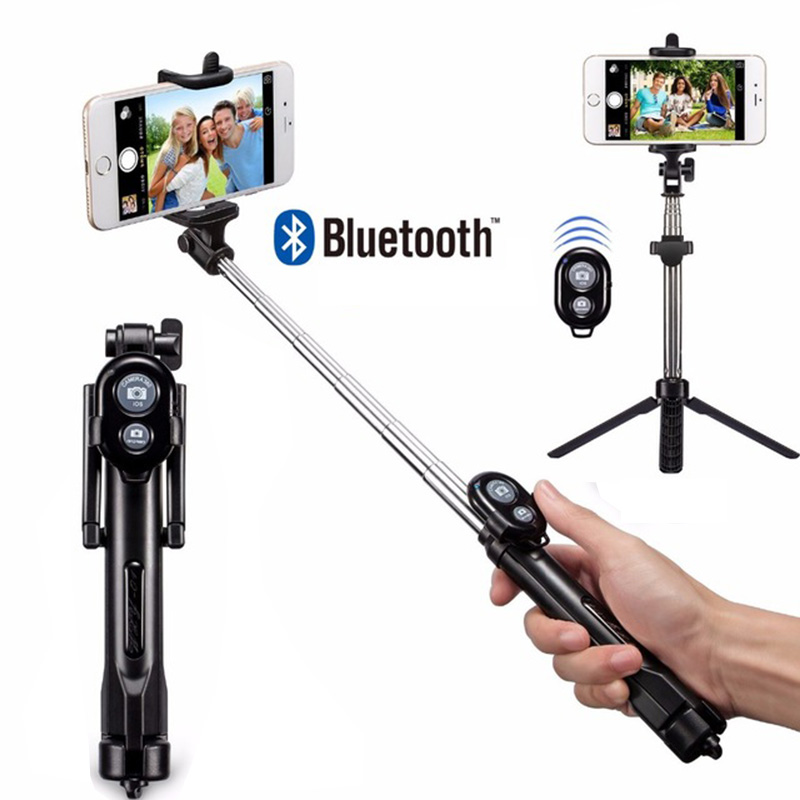 Rovtop Selfie-Stick Monopod Tripod Bluetooth IPhone Android-Os With For IOS 8-Plus 7