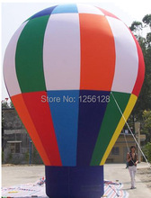 Big Standing Inflatable Advertising Fire Balloons/Inflatable Hot Air Balloon For Advertisements