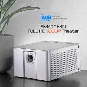 Image 2 - AUN Full HD projektör J20, 1920*1080P, Android WIFI, 10000mAH pil, taşınabilir DLP projektör. Destek 4K 3D Beamer