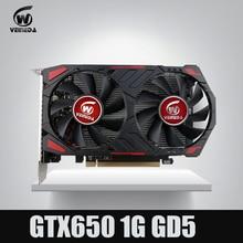 Оригинальный GTX650 GPU veineda Видео Видеокарта GTX650 1 ГБ GDDR5 128BIT видеокарты NVIDIA PC Gaming сильнее, чем GT630, GT730