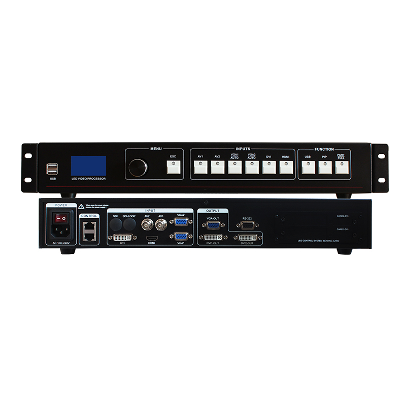 Display Screen Rotating Led Indoor Video Sign Panel Controller Mvp508 Same Vdwall Video Processor Lvp515 2019 Official