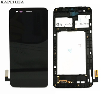 5.0For LG K4 2017 M160 LCD Display Touch Screen Digitizer Assembly with Bezel Frame 14led lcd display touch screen assembly with bezel for lenovo thinkpad 00hm039 00hm915