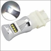 2pcs T25 3157 3156 80W CSP Chip LED Lamp Car Bulb Auto P27 7w Led Car