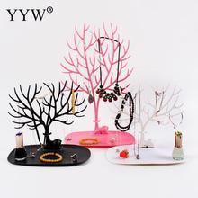 Women vogue Jewelry Necklace Bracelets Earrings Rings Deer Stand Display Organizer Holder Show Rack Showing Shelf 2018 Hot Sale