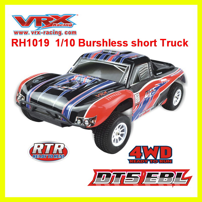 Toys for children VRX Racing RH1019 brushless 1 10 scale 4WD Electric short Truck rc car