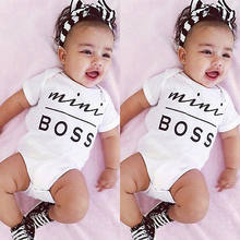 Cotton Newborn Baby Girl Boy Clothes Bodysuit Jumpsuit Playsuit Outfits(China)