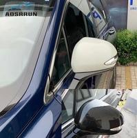 Carbon faser dekoration rückspiegel abdeckung Auto Zubehör Für Hyundai Santa Fe IX45 2019 2020