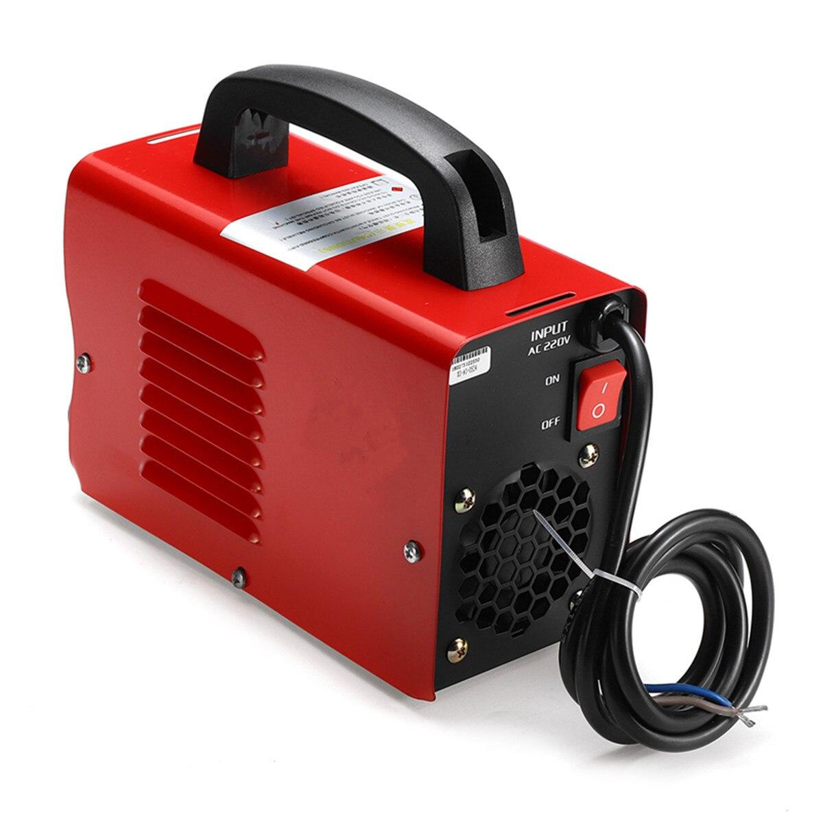220V 10-200A 4000W Ручной мини ММА IGBT инвертор мини Электрический дуговой сварочный аппарат-инструмент