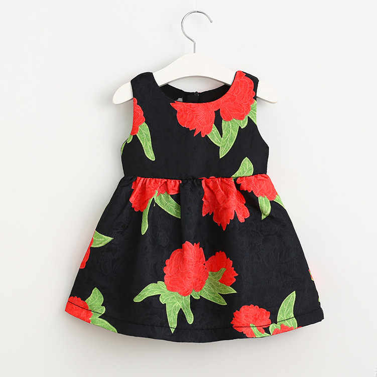 cb6dde220c79e 2019 PPXX Floral Girl Women Dress Wedding Gown Party Mother Daughter  dresses Family Matching Clothes outfits Family Look