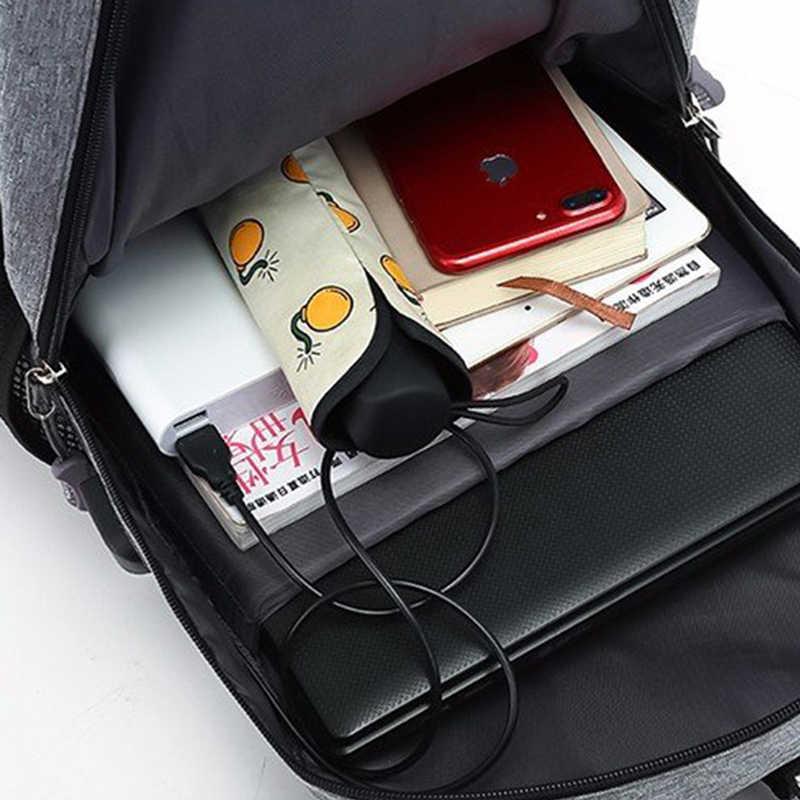 Мужской рюкзак мужской водонепроницаемый USB зарядка школьный спортивный рюкзак Оксфорд повседневный рюкзак для ноутбука Повседневная мужская сумка