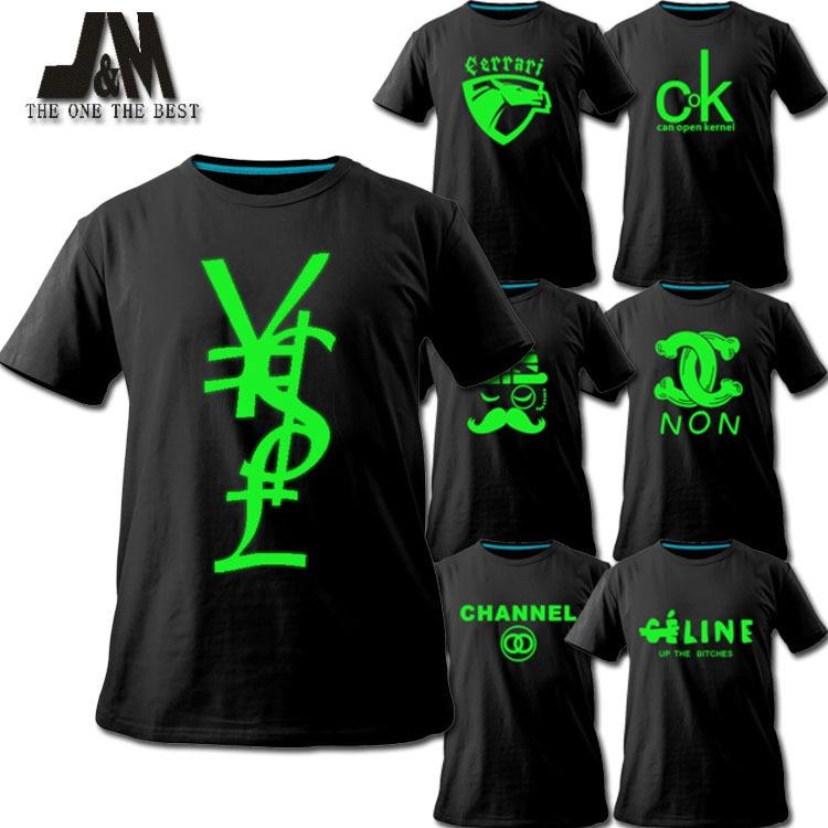 Fun Shirt Popular Brand Logo T Shirt Diy Custom Design