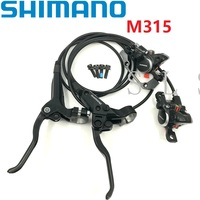 Shimano BR BL M315 Hydraulic Disc Brake Front Rear Brake Lever*Caliper With Pads MTB Mountain Bike Disc Brake Accessories MT200