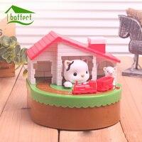 Кот и Мышь банк форме копилки металлические монеты копилка фигурки экономить деньги Домашний Декор пользу подарок для Для детей