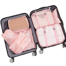 Travel Storage Bag 7-piece Set Luggage Storage Bag 7 Sets of Travel Sorting Bags Clothing Clothes Storage Bag Set Seven Sets