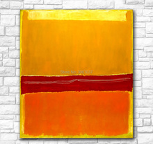 Wall Pictures For Living Room Abstract Mark Rothko Canvas Art Home Decor Modern No Frame 100% handpainted Oil Painting handpainted mark rothko classical oil painting for living room wall art canvas decorative pictures no frame