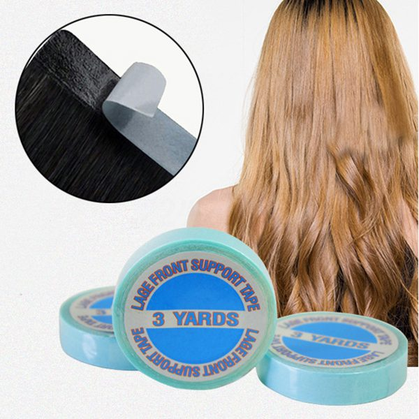 NEW-Strong Double-sided Adhesive Tape For All Tape Hair Extensions,3 METER 1 Roll
