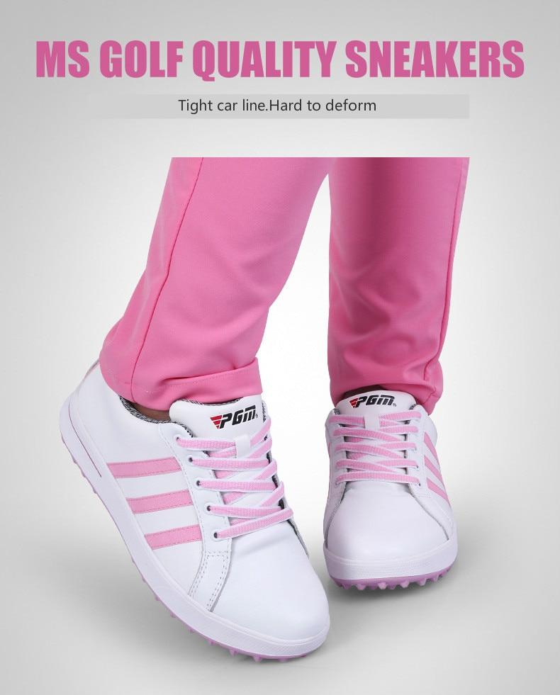 Sapatos de golfe para as mulheres à
