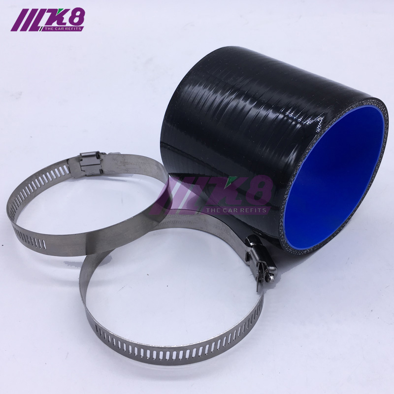 "3.5/"" To 3/"" Silicone Hose//Intake//Intercooler Pipe Coupler BLUE For Nissan//Datsun"