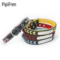 PipiFren Small Dogs Collars Cats Puppy Accessories Supplies For Pets Collars Retractable Kitten Chihuahua Kedi Tasma