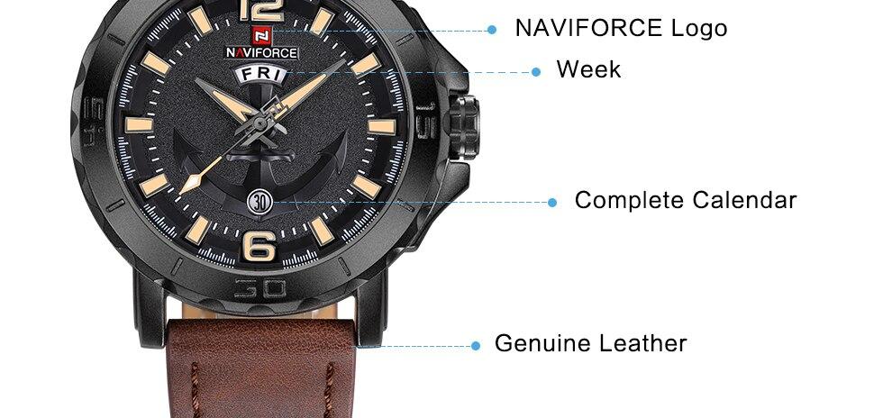 HTB153i2lTXYBeNkHFrdq6AiuVXay NAVIFORCE Men's Fashion Business Quartz Wristwatches Creative Sports Watches Men Luxury Brand Watch Clock Male Relogio Masculino