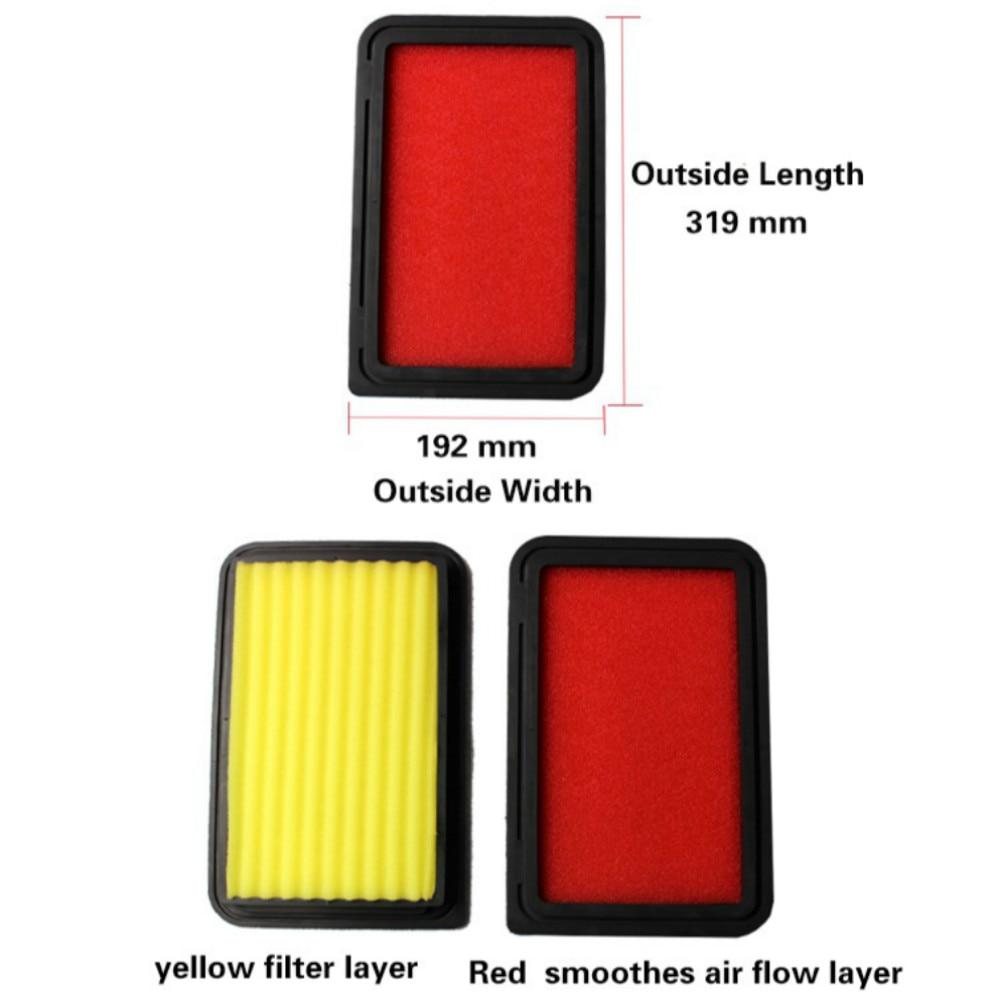 Filtres à Air hybrides superbes d'automobile de filtre à Air d'écoulement élevé de filtre à Air de voiture pour HONDA CRV CR-V 2.4L 2007-2011 (match KN 33-2377)