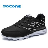 Socone New Arrival Women Running Shoes Ladies Sport Sneakers Outdoor Lace Up Walking Shoes Athletic Zapatillas