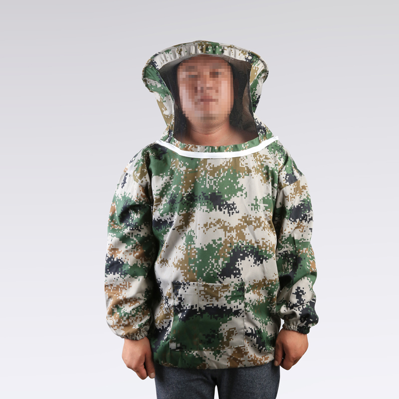 Half set head desert camouflage anti bee suit wear protective clothing to prevent bee bee clothing wholesale code for the bees