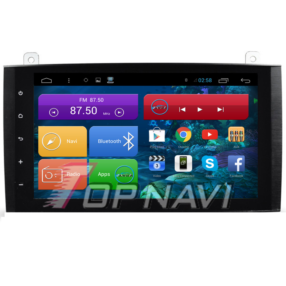 DHL Free Shipping Quad Core Android 4.4 Car Stereo for B200 For Benz With GPS Wifi BT Map 16GB Flash Memory Mirror Link