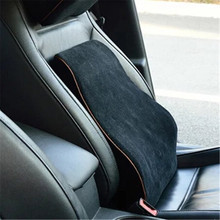 цена на Car Memory Foam Lumbar Back Pillow Cushion Home Office Car Auto Seat Supports Chair Pillow