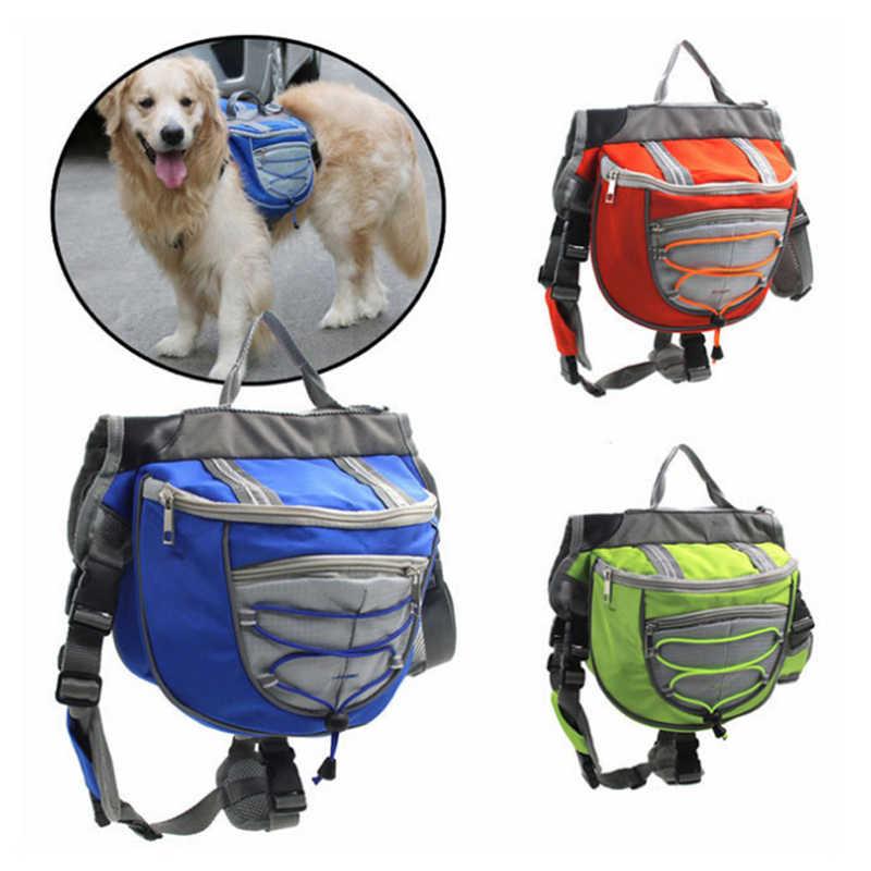 Venxuis מתכוונן ספורט לכלבים גדול כלב רתם Carrier לנסיעות טיולי קמפינג חיצוני כלב ספורט אוכף תיק