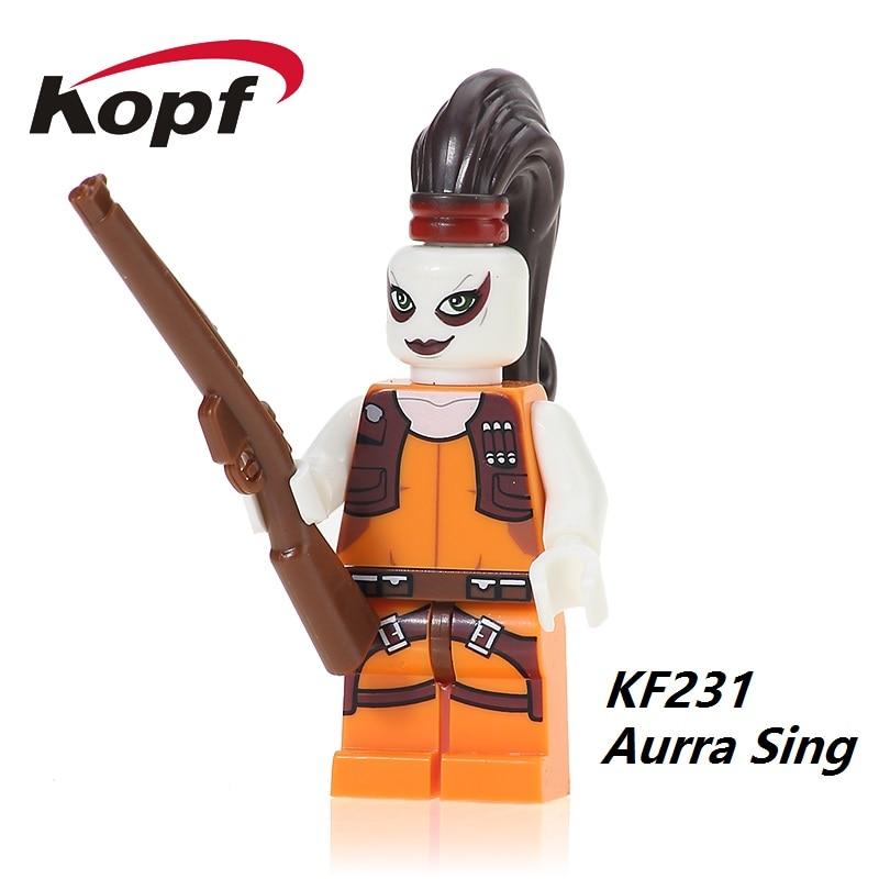 KF231 Building Blocks Aurra Sing Star Wars Bounty Hunter Gunship Clone Wars Set 7930 Bricks Collection Toys for children Gift металлоискатель bounty hunter discovery 2200