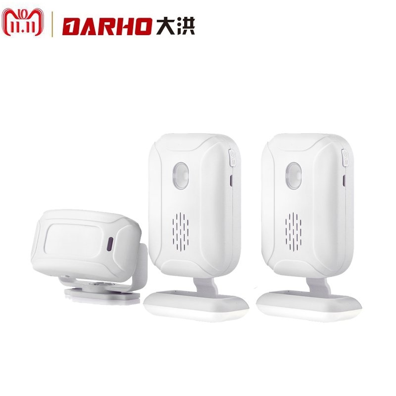 Darho 2018 Shop Store Home Hotel Bank Security Welcome Chime Wireless Infrared IR Motion Sensor Alarm Entry Doorbell Sensor darho36 ringtones shop store home security welcome chime wireless infrared ir motion sensor alarm entry doorbell sensor