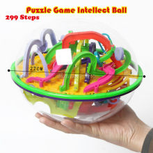 299 level 3D Magic Maze Ball perplexus magical intellect ball educational toys Marble Puzzle Orbit game