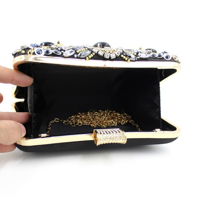 Women's Diamond Clutch Bag