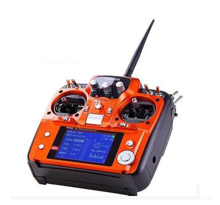 RadioLink AT10 2.4G 10CH Transmitter w/ R10D Receiver & PRM-01 Voltage Module radiolink at10 2 4g 10ch transmitter with r10d receiver