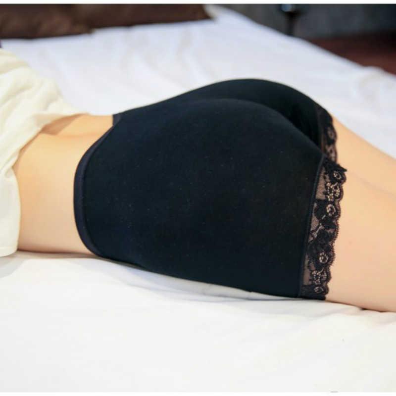 2019 New Hot Sexy lato szorty Damskie koronki wysokiej talii szorty bezszwowe dorywczo miękkie krótki Feminino darmowa rozmiar Spodenki Damskie